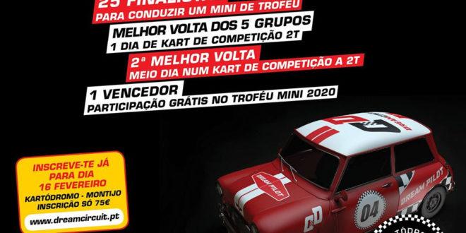 Dream Circuit promove concurso para ser piloto no Troféu Mini em 2020
