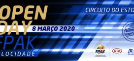 Dia 8 de Março Circuito do Estoril de portas abertas para a velocidade nacional