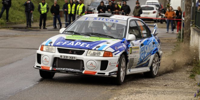 J. SILVAS RALLY TEAM ENTRA A VENCER