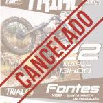 Nacional Trial 2020 Estreia em Vila de Fontes cancelada