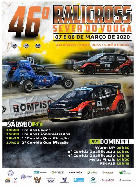 Campeonato de Portugal de Ralicross, Kartcross e Super Buggy arranca em Sever do Vouga