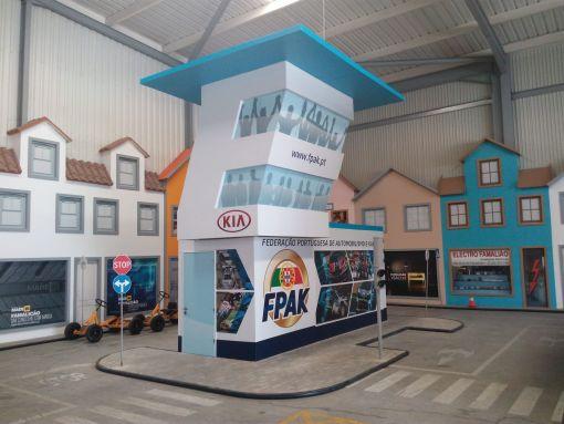 Espaço FPAK na Escola de Condução Rodoviária do Museu do Automóvel em Famalicão