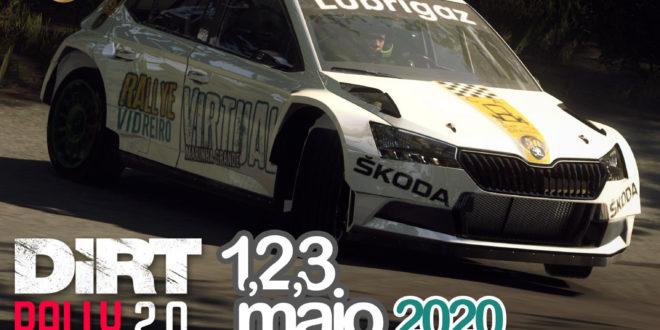 Rallye Vidreiro vai para a 'estrada' a 1,2 e 3 de Maio