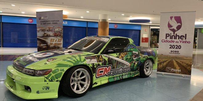 Drift de Pinhel promovido no Palácio do Gelo Shopping de Viseu