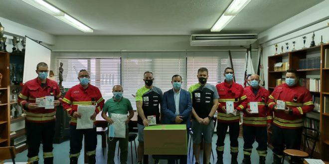 Acção Social com Bombeiros Voluntários de Castelo Branco