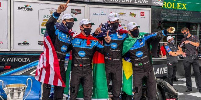 Filipe Albuquerque vence 24h de Daytona