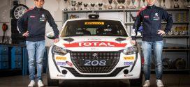 Nucita piloto oficial da Peugeot Itália