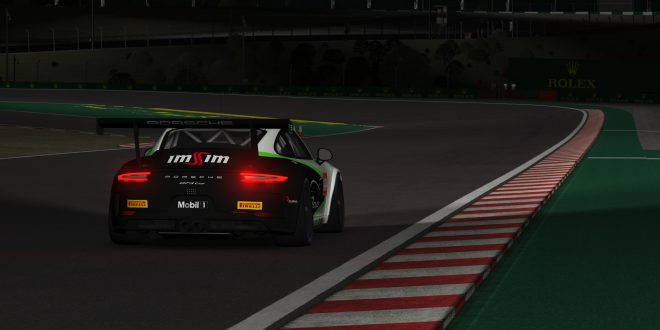 GT3 Cup by ImSim: acelerar em casa  na realidade virtual de um Porsche 997